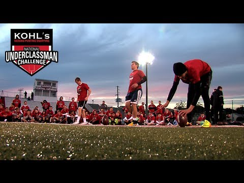 Download 2014 Underclassman Challenge   Kohl's Kicking, Punting & Snapping Camps
