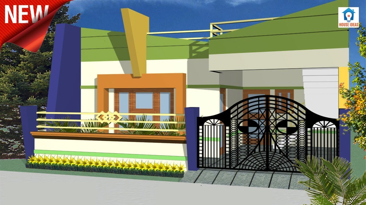 maxresdefault - Download Small House Single Floor Elevation Designs Images