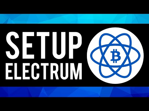 How To Setup & Use Electrum Wallet 2021 (Step By Step)