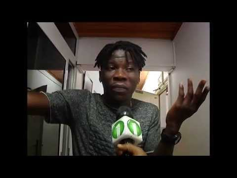 Stonebwoy reacts to Adomaa