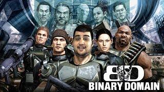 [18+] Шон играет в Binary Domain (PC, 2012)