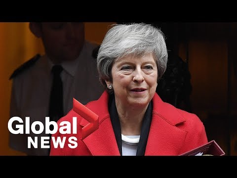 British PM Theresa May stays as leader after winning confidence vote