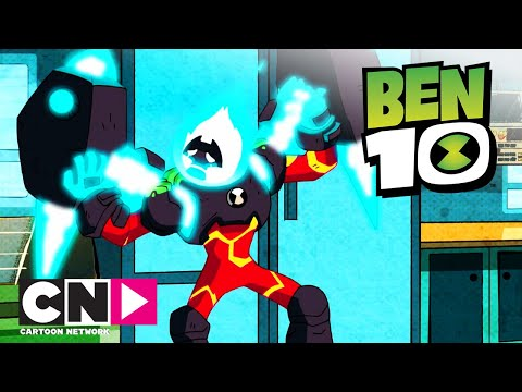 Ben 10 | Lánglovag kontra La Grange| Cartoon Network