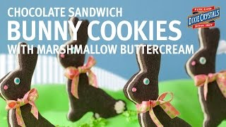 How To Make & Decorate Chocolate Bunny Sandwich Cookies With Bridget Edwards