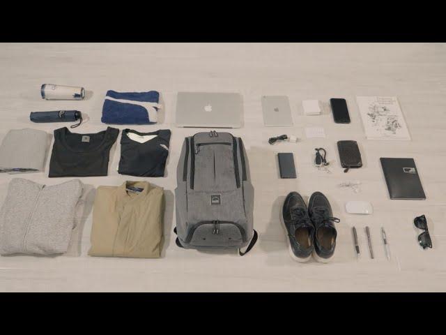 輕量級高收納的商務運動背包 台灣設計製造 BAGSIC ALL DAY