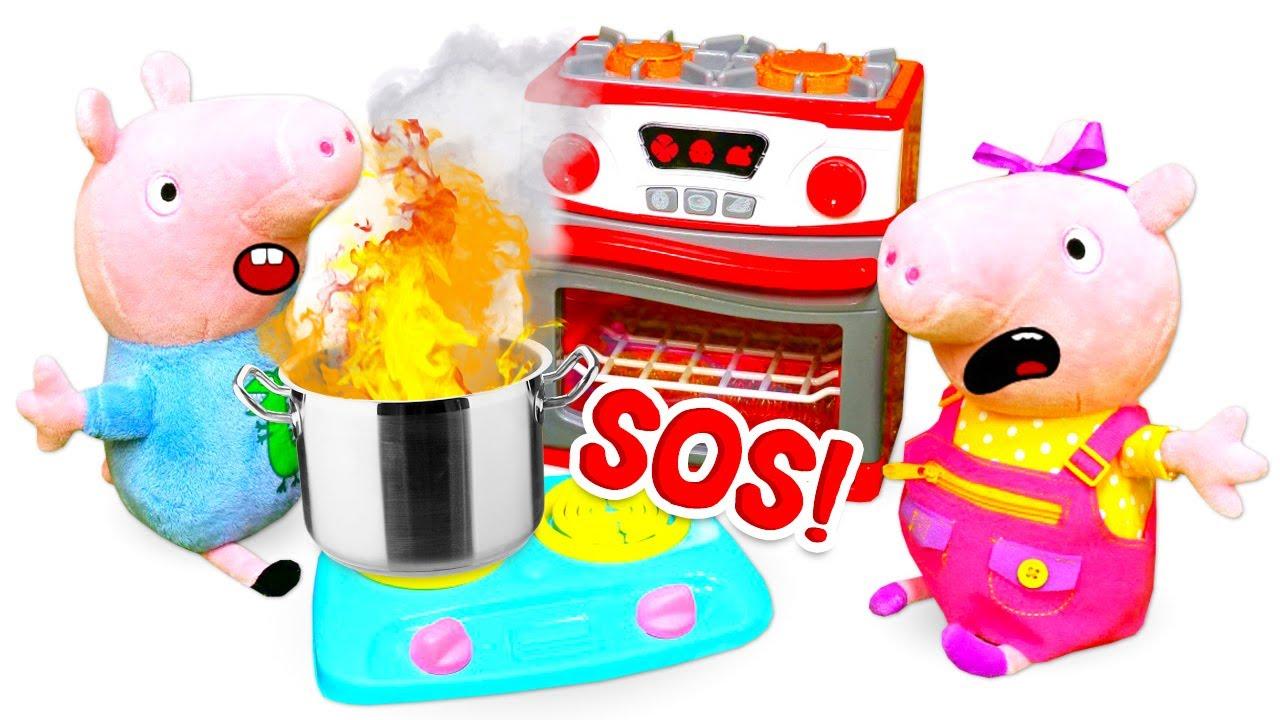 Histoires amusantes de Peppa pig et sa famille. Vidéos en français pour enfants.