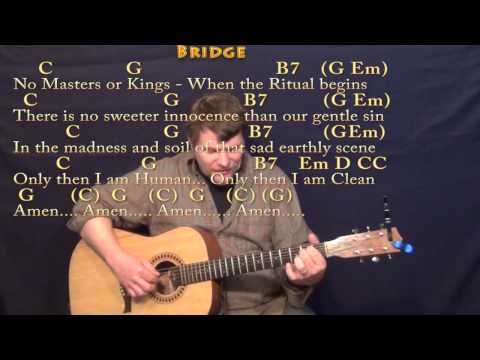 Take Me To Church (Hozier) Fingerstyle Guitar Cover Lesson with Chords/Lyrics