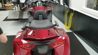 2018 2019 Honda Gold Wing - Hondaline Trunk Removal Kit, Part 2