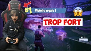 LE KIKOU LE PLUS FORT SUR FORTNITE ! TOP 1 EN LIVE OMG