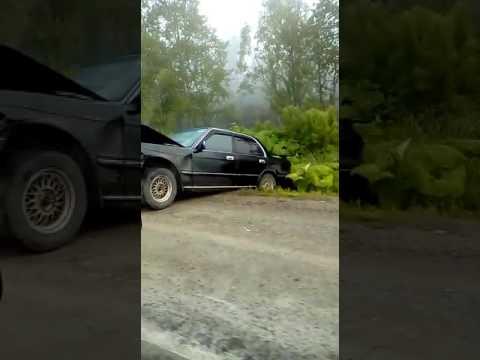 Девушка пострадала при ДТП на автодороге Южно-Сахалинск - Холмск
