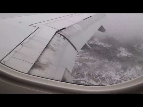 Flight Kiev-Vilnius. Landing