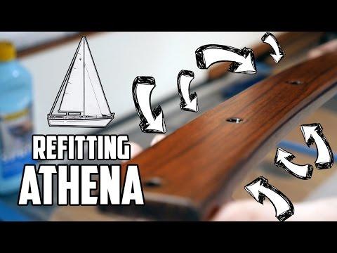 Sail Life - Varnishing and painting the port side aft cabin & LattePanda - DIY sailboat refit