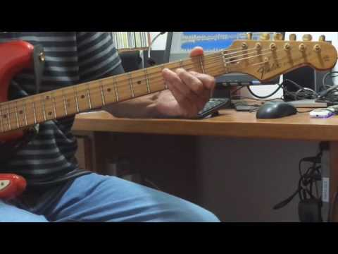 The Way (Fastball Instro Guitar Cover) - by...