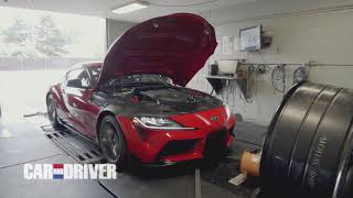 homepage tile video photo for Dyno Test: How Much Power Does the 2020 Toyota Supra REALLY Make?