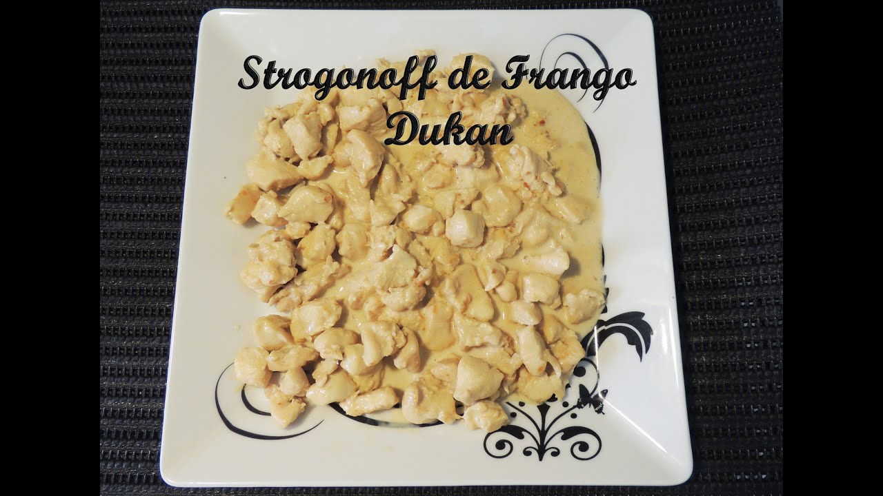 Receita Strogonoff De Frango Fit Dieta Dukan Fase De Ataque