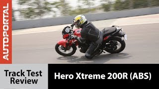 Hero Xtreme 200R(ABS) - Track Test Review - Autoportal