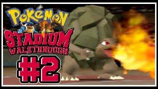 Pokemon Stadium: Detailed Walkthrough #002 - Poke Cup: Poke Ball Destruction!