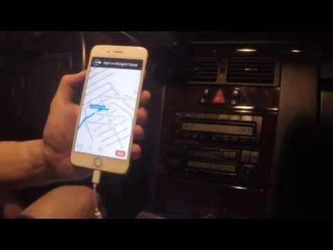 Play Iphone 7 music thru old car radios