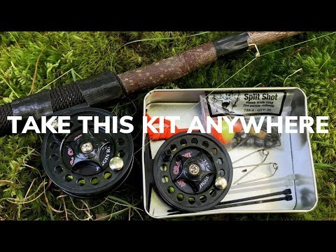 DIY Ultralight Survival Fishing Tin. Catch Fish Anywhere