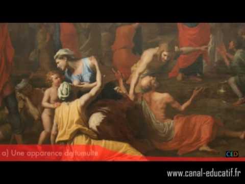 Nicolas Poussin, la Récolte de la Manne (partie 1)