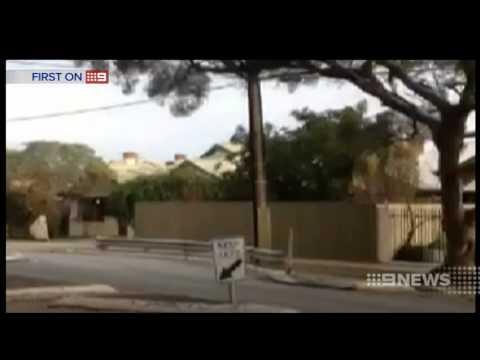 Van Explosion   9 News Adelaide