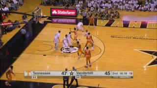 Tennessee vs Vanderbilt Basketball Highlights 1-14-17