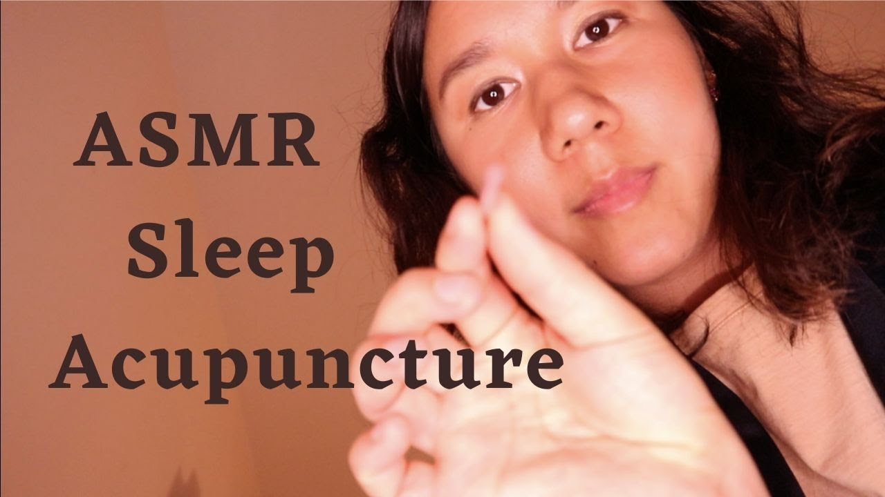 [ASMR] Sleep Clinic Acupuncture Treatment (Traditional Chinese Medicine Doctor Roleplay) #Herbalmedicine