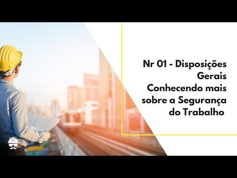 NR 01 - Disposições Gerais - YouTube e412787f26