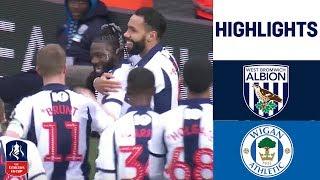 West Brom 1-0 Wigan | Sako Goal Sends Baggies Through | Emirates FA Cup 18/19