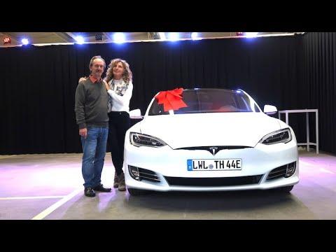 Tesla Hotte holt sein Tesla Model S Long Range aus Hamburg ab. Alles OK oder nicht!