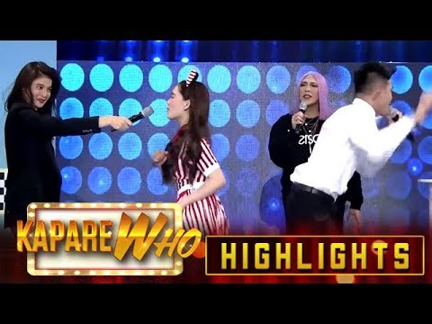 Anne Curtis Holds The Microphone For Ion And Jackque's Beklaban | It's Showtime KapareWho