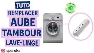 Remplacer l'aube de tambour de votre lave-linge