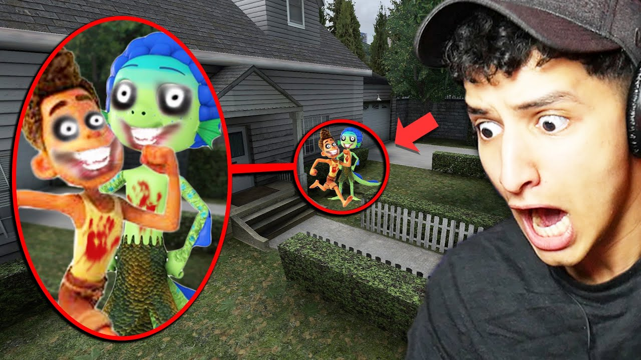 If You See ALBERTO vs LUCA Outside Your House, RUN AWAY FAST!!