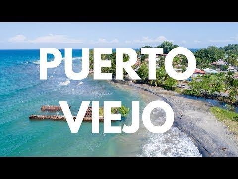 Puerto Viejo de Talamanca, Playa Negra, Playa Cocles and Punta Uva Aerial Video