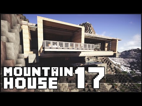 Minecraft - Epic Batcave & Modern Mountain House 17