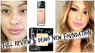 Baixar Review DEMO: NEW Maybelline Fit Me-Matte and Poreless Foundation
