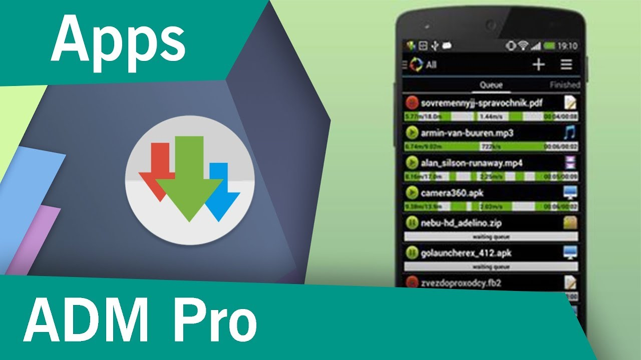 Descargar Advanced Download Manager Pro! (ADM) Gratis | APK | 2019