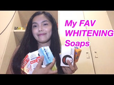 My FAVORITE Whitening Soaps|GLUTA-C,Kojic-san,Snow,TAWAS,Olay |Juvie Review