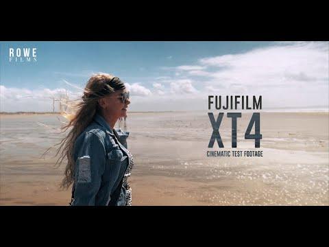 FUJIFILM XT-4 | Real World Cinematography 4K | Cinematic Test Footage