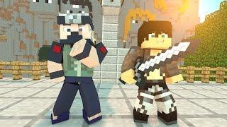 THẦY GIÁO KAKASHI VÀ TITAN!! - Minecraft : Lớp Học Anime (Cùng Jaki Natsumi)