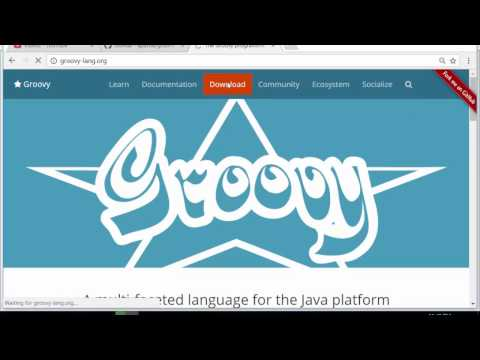 How to install groovy on Windows 10