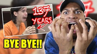 BRUHH WHAT DID THESE KIDS DO!? - 10 GUILTY TEENAGE Convicts REACTING to LIFE SENTENCES