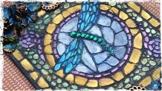 Dragonfly Mosaic Stencil Tutorial