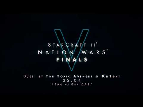 NATION WARS V FINALS AT PLAY PARIS BY PAX FEAT THE TOXIC AVENGER & KN1GHT