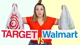 $100 Outfit Challenge at Target vs. Walmart!