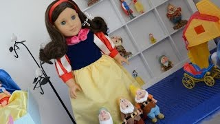 American Girl Doll Disney Snow White Doll And Bedroom ~ Watch In Hd!