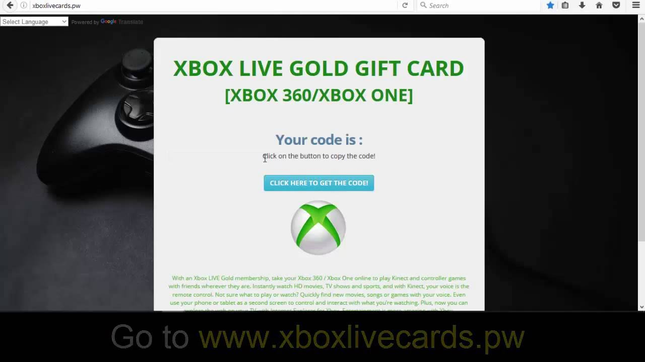 Get Free Xbox Gold Codes how to get free xbox live gold 1year for xbox one
