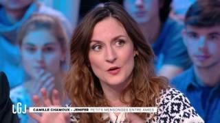 Jenifer et Camille Chamoux dans « Faut pas lui dire » - Le Grand Journal du 03/01 – CANAL+