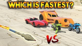 GTA 5 ONLINE : RPG VS BOOST (WHICH IS FASTEST?)