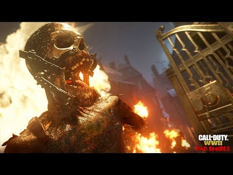 OFFICIAL CALL OF DUTY WW2 ZOMBIES TRAILER - NAZI ZOMBIES GAMEPLAY (COD WW2 ZOMBIES)